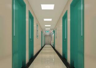 和康医院走廊环境